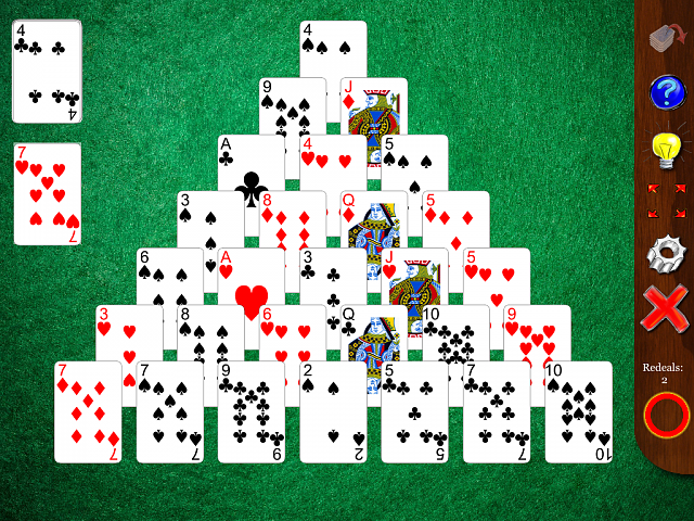 free pyramid solitaire app