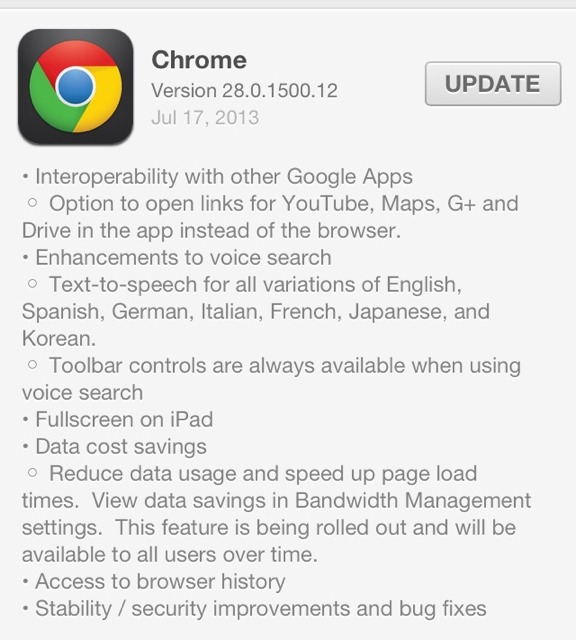 Chrome for iOS updated, Full Screen browsing for iPad-imageuploadedbytapatalk1374093296.995785.jpg