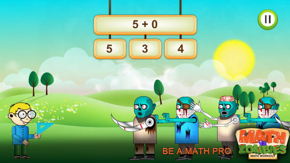 math worksheet : math vs zombies  educational games for kids  iphone ipad ipod  : Math Learning Games For Kindergarten