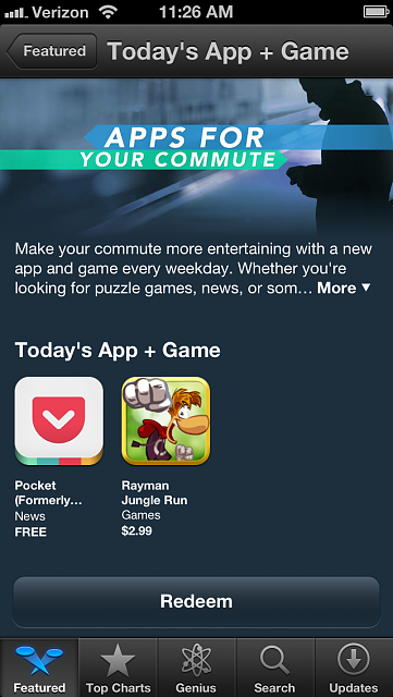 Only 2 apps viewable in the Apps&Games for Commute Section of the App Store?-photo-aug-21-11-26-54-am.png