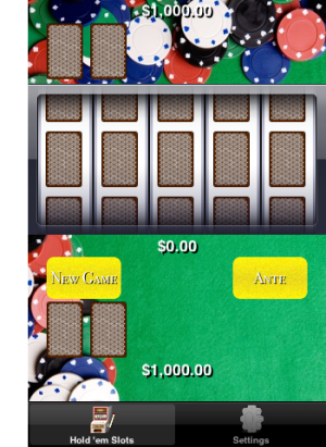 Hold 'em Slots - hold 'em poker slot machine app-contentholdemslotsmainscreen.png