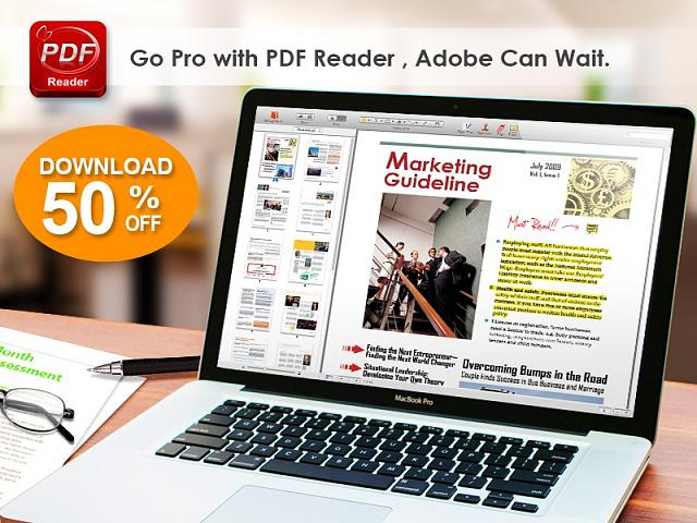 BIG PRICE DROP for PDF Reader Mac Edition! Now 50% OFF-sale.jpg