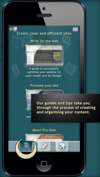 Create real websites with SimpleDifferent website builder-iphone5.jpeg