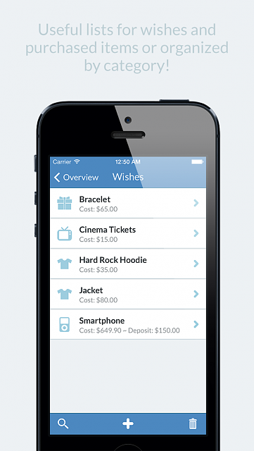 Easily manage your wish list with WishOnList!-list.png