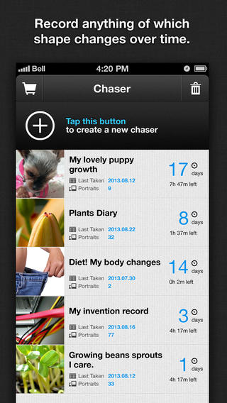 Shape Chaser - Record changes over time. (FREE)-screen568x568.jpeg