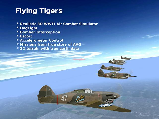 Flying Tigers ---- Realistic 3D Air Combat Game - iPhone, iPad, iPod