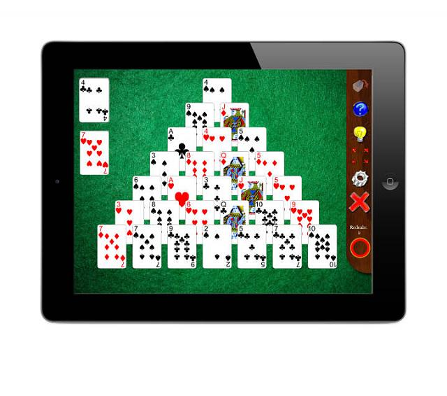 Solitaire Whizz: New solitaire compendium for iPad-pyramid13ipad.jpg
