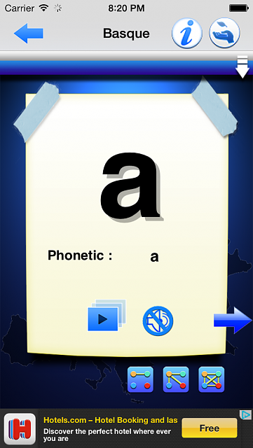 Discover new alphabets in 25 European languages-ios-simulator-screen-shot-3-.png