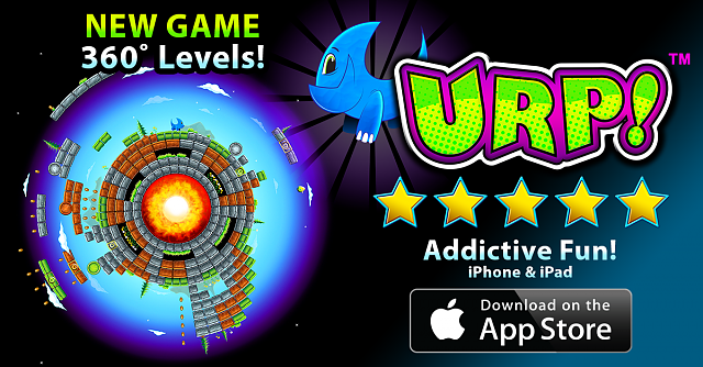 URP! - New PUZZLE PLATFORMER with challenging 360˚ levels! Indie iOS game!-urp-fb-ad-01.png