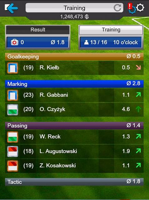 GOAL 2014 Football Manager (Free)-trainingres.jpg