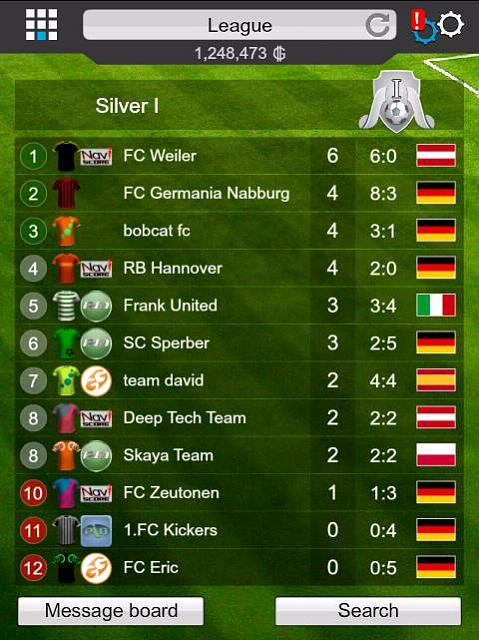 GOAL 2014 Football Manager (Free)-standings.jpg