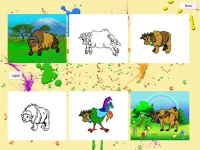 Amusing Zoo - educational  game-coloring with funny little animals.-3.jpg