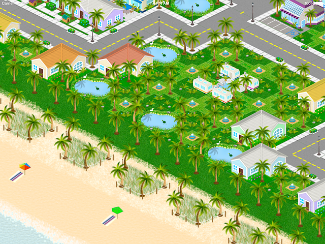 Island Town (Free-mium iPad Game) by Bryan Scott Gruver-campgroundscene.png
