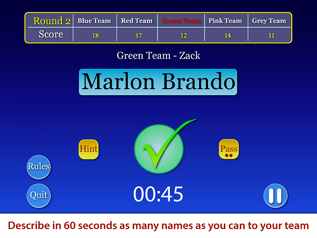 Say The Name - A Family Fun Name Guessing Game for iPad-app-screenshot-1.png