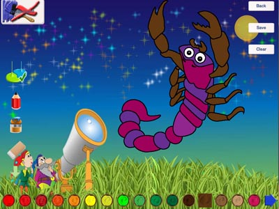 Stargazer - educational puzzle game with elements math and coloring (free)-5.jpg
