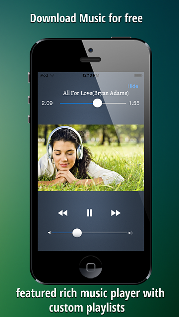 iGetMusic : Free music downloader and Music Player app ( FREE for next 24 Hrs)-1.png