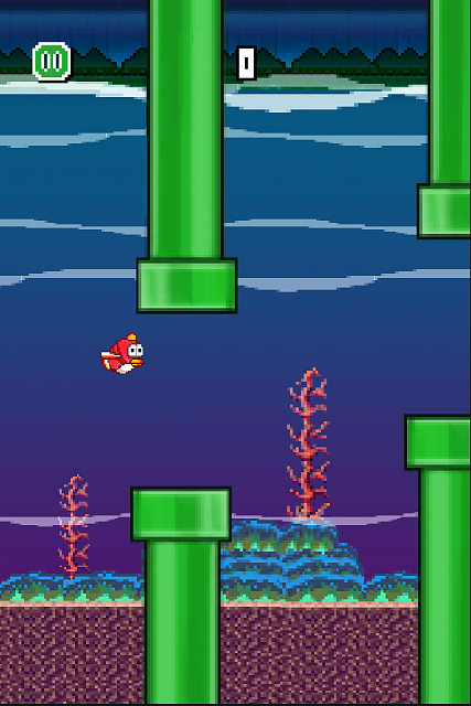 Flap The Bird Away: The crazy bird is back! This time trapped in a fish's body. *Flap-Flap*-05.png