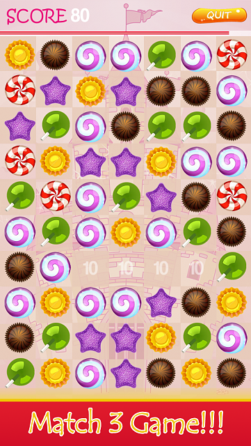 Candy Blaster Blitz - iOs Match 3 Puzzle Game-5_2.png