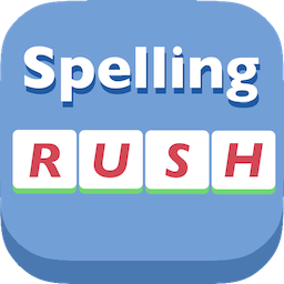 Spelling Rush - English word spelling game [Free]-spellingicon256.png