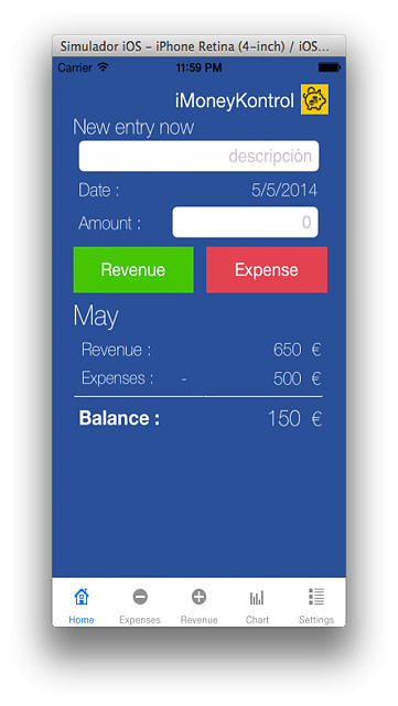 iMoneyKontrol app. Control your expenses and income. [Free]-captura1.png
