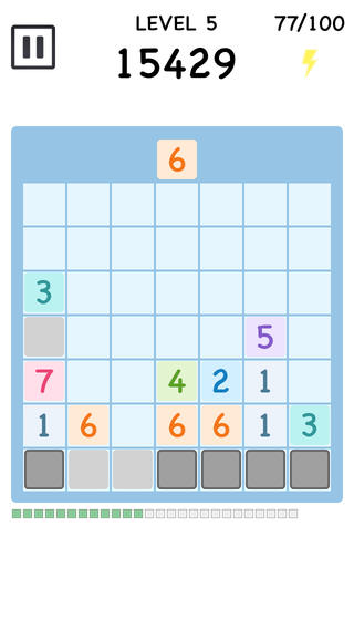 7! - Sevens Decipher Falling in Block[Free] A simple but addicting number matching puzzle game-screen568x568.jpeg