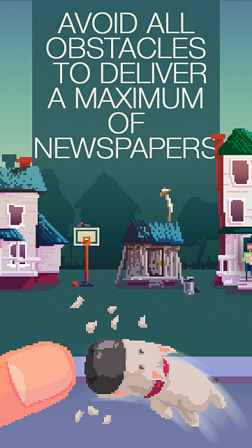 The Delivery Man (wonderfull iOS Game)-en_paperboy_presentation_1136_2.png