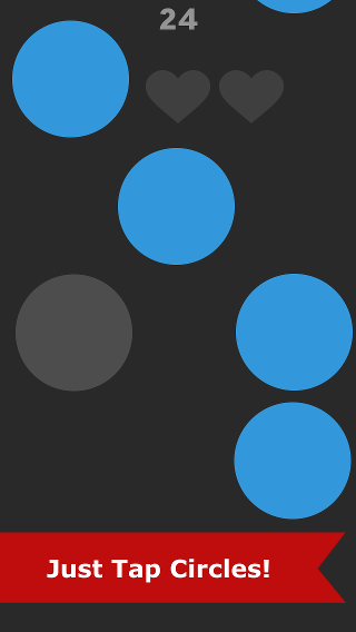 Rain Circles: Tap it quickly - Train thinking skills and reaction speed!-screen_2.png