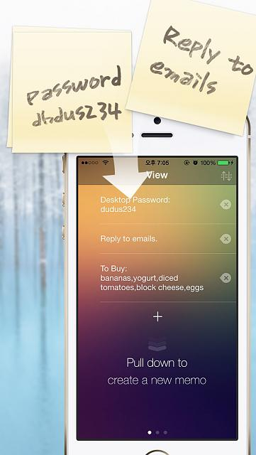 WidgetMemo - Makes notes and checks right in the iOS Notification Center-1.jpg
