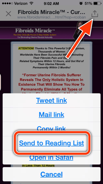 "Twitter for iOS & the Safari ""reader"" function-imageuploadedbytapatalk1407074760.816470.jpg"