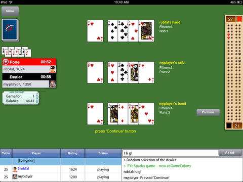 Cribbage Live for iPhone/iPad [FREE GAME]-screen480x480.jpeg
