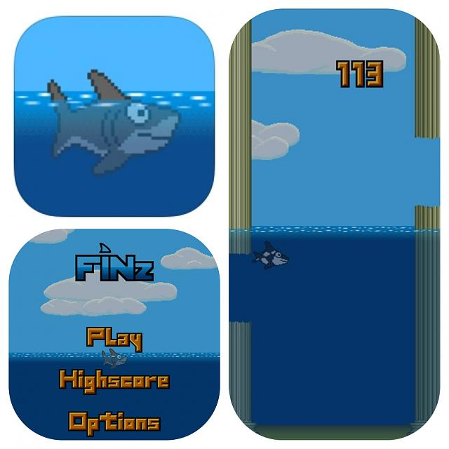 Finz - flappy, tappy free app available on the App Store!-img_6608.jpg