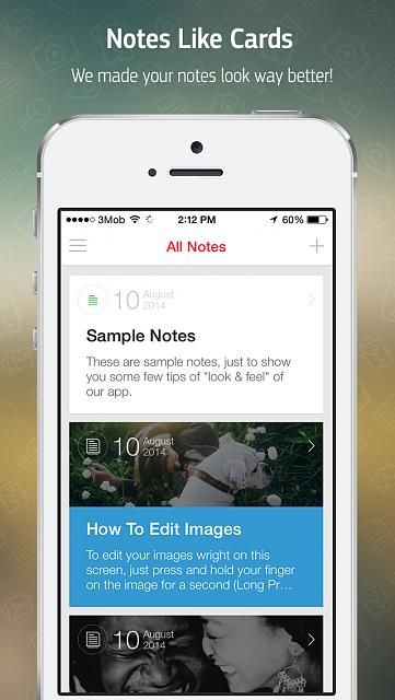 Menote - Notes, Diary [FREE APP]-app-store-template-full-note-2-2.jpg