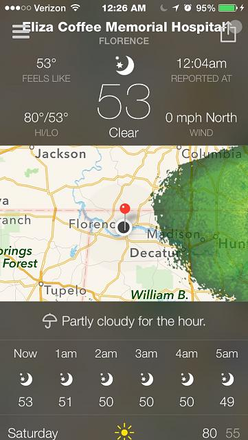 BeWeather for iPhone - Free Weather App by Bellshare-imageuploadedbytapatalk1414215741.111319.jpg
