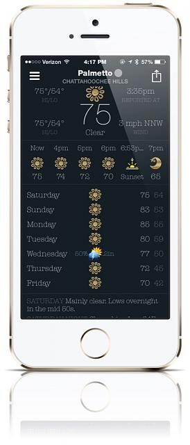 BeWeather for iPhone - Free Weather App by Bellshare-imageuploadedbytapatalk1414268550.879445.jpg