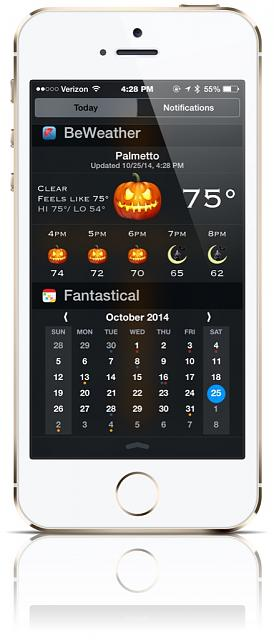 BeWeather for iPhone - Free Weather App by Bellshare-imageuploadedbytapatalk1414269065.756939.jpg