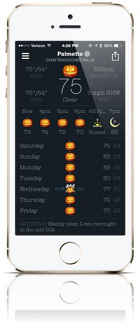 BeWeather for iPhone - Free Weather App by Bellshare-imageuploadedbytapatalk1414269077.806367.jpg