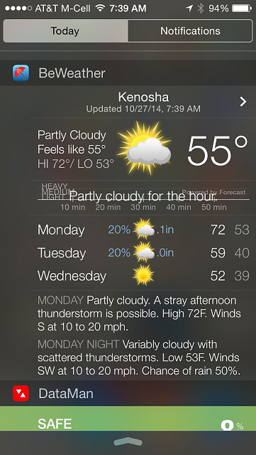 BeWeather for iPhone - Free Weather App by Bellshare-img_0456.png