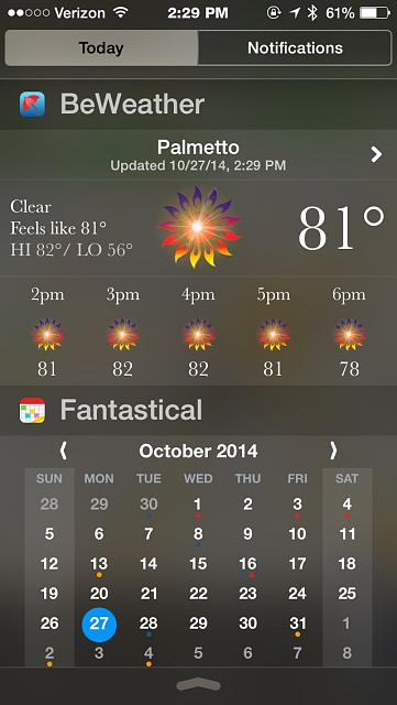 BeWeather for iPhone - Free Weather App by Bellshare-imageuploadedbytapatalk1414434731.747315.jpg