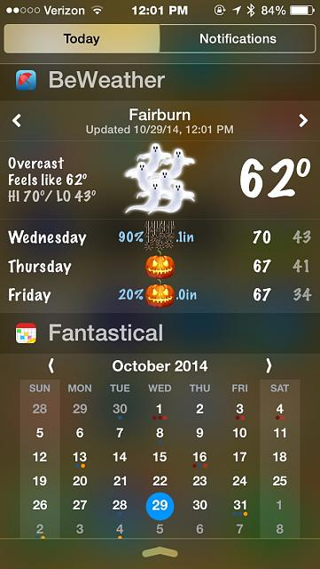 BeWeather for iPhone - Free Weather App by Bellshare-imageuploadedbytapatalk1414598771.407021.jpg