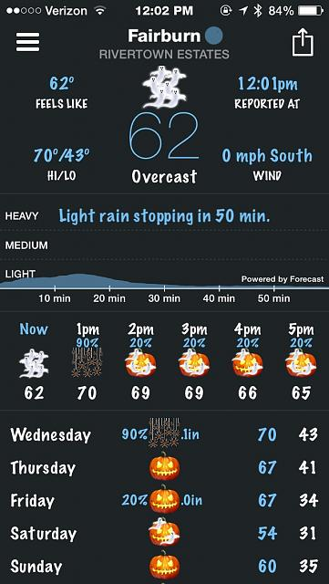 BeWeather for iPhone - Free Weather App by Bellshare-imageuploadedbytapatalk1414598783.541384.jpg