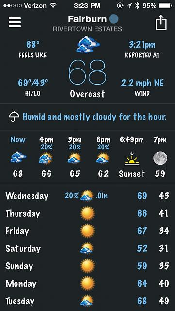 BeWeather for iPhone - Free Weather App by Bellshare-imageuploadedbytapatalk1414610691.621859.jpg