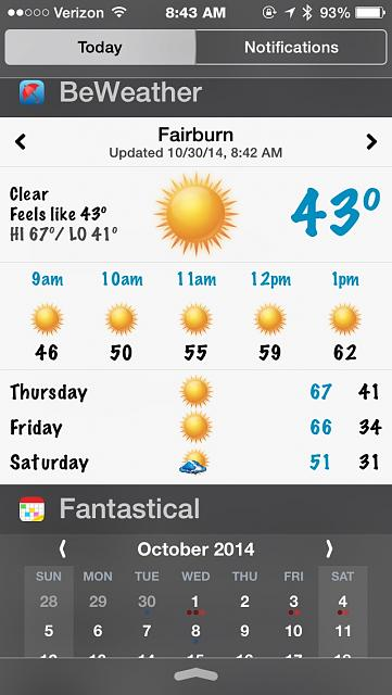BeWeather for iPhone - Free Weather App by Bellshare-imageuploadedbytapatalk1414673064.820507.jpg