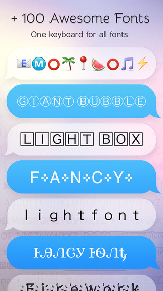 Cute Fonts Keyboard Extension - Type with Cutie Fonts-screen322x572-1.jpeg