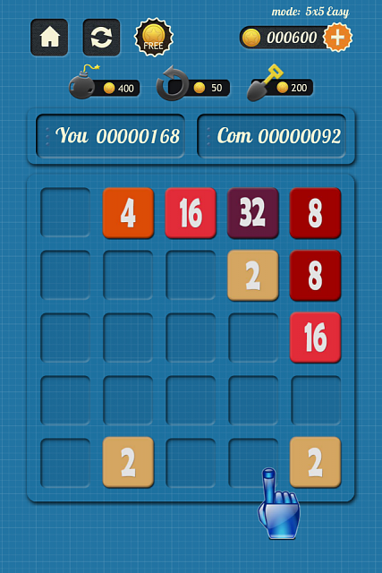 2048 Vs Com - An UNIQUE 2048 game-iphone4ss_100_04.png