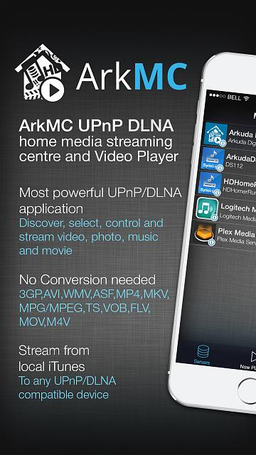 ArkMC Media Center DLNA/UPnP application-1.jpg