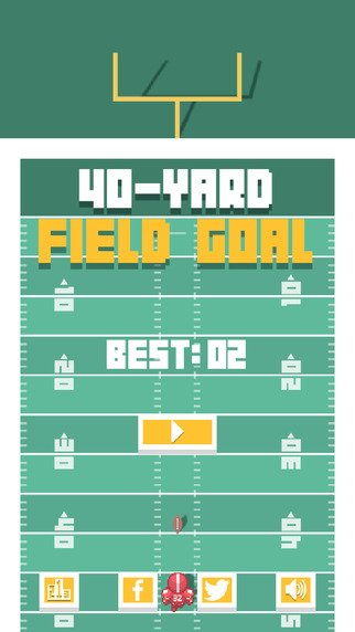 40-Yard Field Goal - Free iOS Game-screen322x572.jpeg