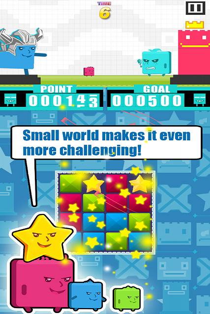 Hero of Cubic: A brand new iOS game to draw your attention-scene.png