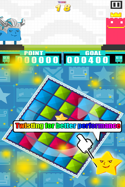 Hero of Cubic: A brand new iOS game to draw your attention-twist.png