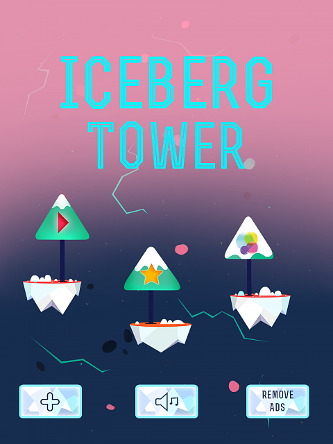 Iceberg Tower game [Free]  - Challenging winter game inspired by City Bloxx and The Tower-iceberg_tower_screenshot.png