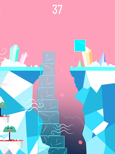 Iceberg Tower game [Free]  - Challenging winter game inspired by City Bloxx and The Tower-iceberg_tower_screenshot_1.png